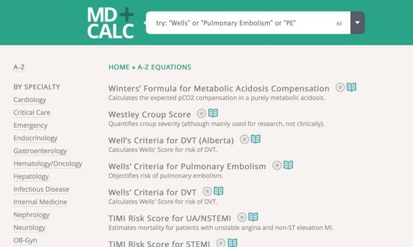 medical calculations