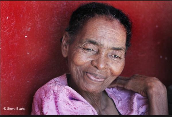 Elder woman Steve Evans