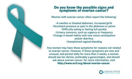 ovarian cancer symptoms